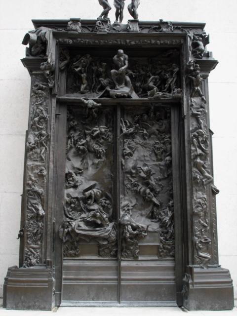 Rodin la porte de l 39 enfer philippe sollers pileface - La porte de l enfer rodin ...