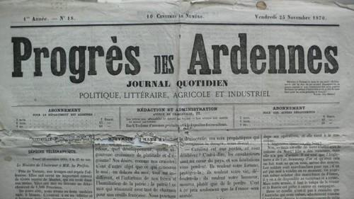 Voir dans le journal l'union du 2 mai le témoignage du bouquiniste