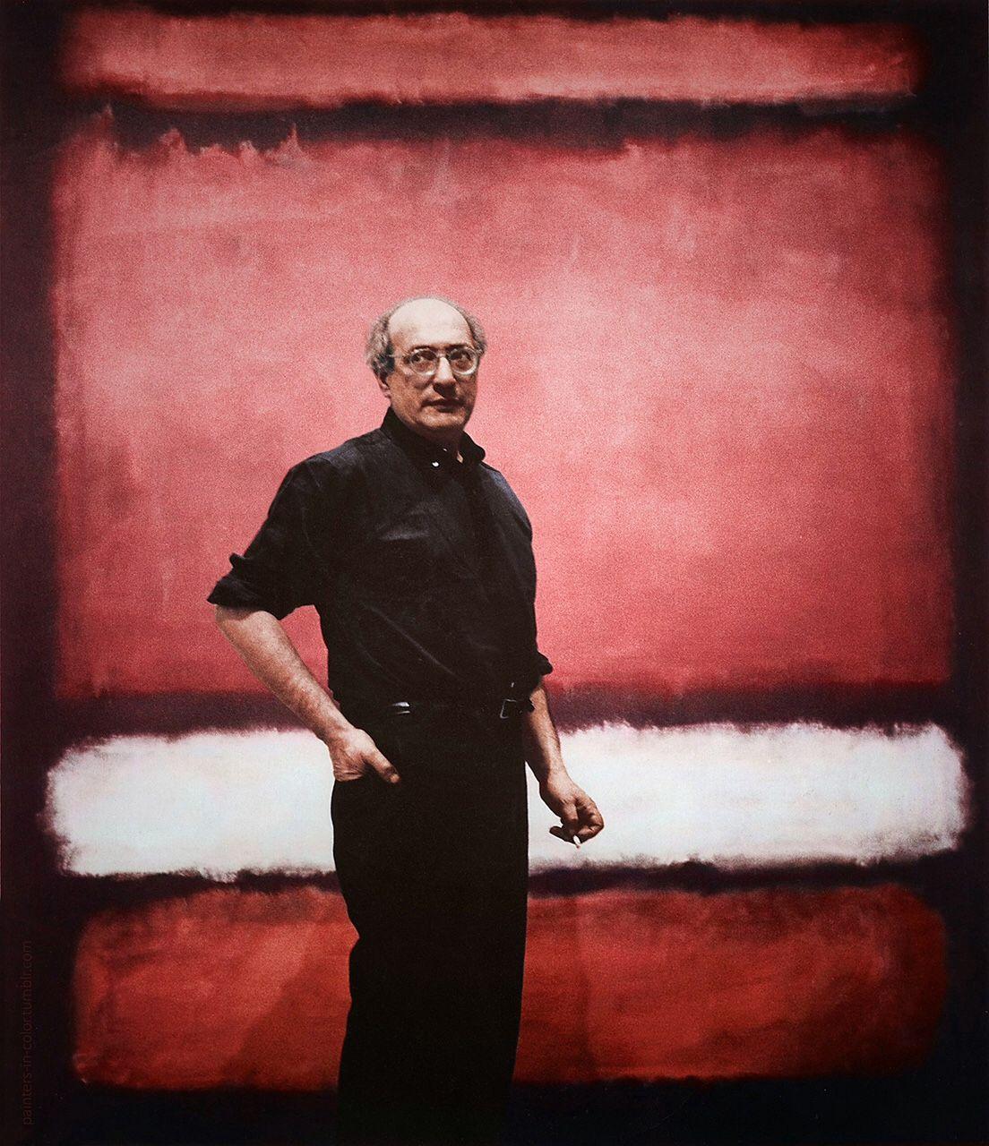 Mark Rothko 1903 1970 Philippe Sollers Pileface