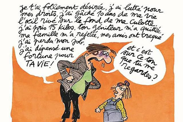 Claire Bretécher s'en est allée, c'est nous qui sommes (...) - Philippe Sollers/Pileface