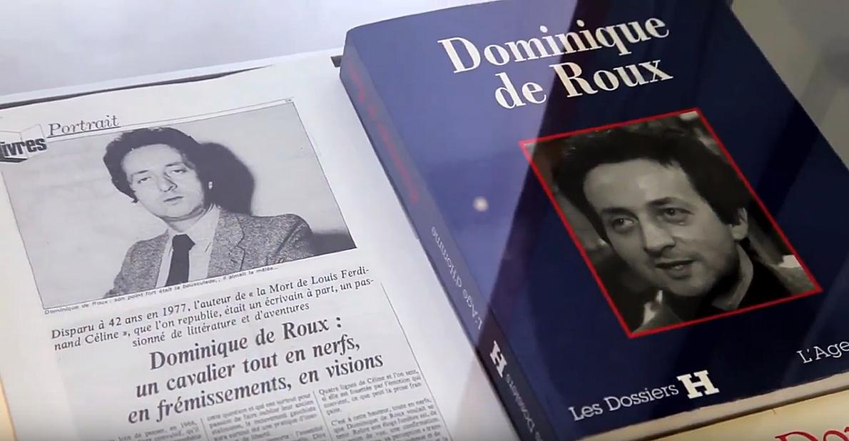 Sur Dominique De Roux Fondateur Des Cahiers De L Herne