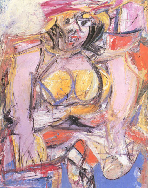 Willem De Kooning - Woman IV - 1952-1953