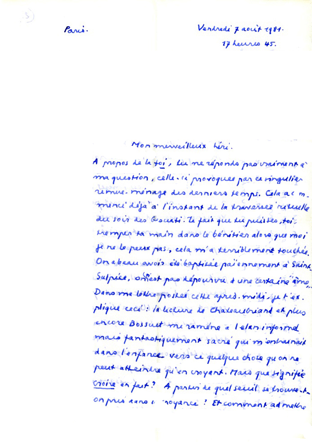 Dominique Rolin Lettres A Philippe Sollers Philippe Sollers