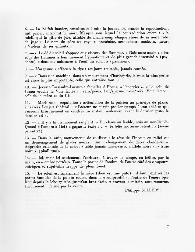 Francis Ponge Tel Quel Philippe Sollerspileface