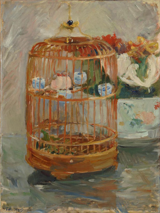 """De """"La Cage"""" de Berthe Morisot à La Cage de Giacometti - Philippe  Sollers/Pileface"""